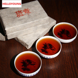 Discount china slimming tea Premium 200g Chinese Yunnan Old Banzhang Puer Pu er Tea Puerh China Slimming Green Food For Health Care