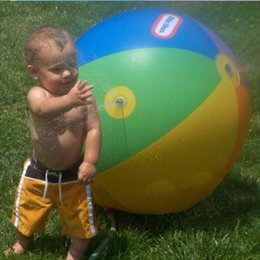 $enCountryForm.capitalKeyWord Canada - Environmental protection Outdoor toys water polo Inflatable water spray Toy Summer beach ball Lawn ball toys for children gifts