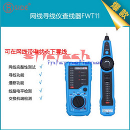 Lan cabLe tester cat6 online shopping - by dhl or ems RJ11 RJ45 Cat5 Cat6 Telephone Wire Tracker Tracer Toner Ethernet LAN Network Cable Tester Line Finder