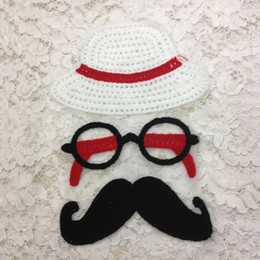 $enCountryForm.capitalKeyWord Canada - 20pcs Fashion Hat Moustache Backing Sequin Patch For Clothing Patches parches ropa Embroidered Jacket Patchwork Applique Clothes Accessories