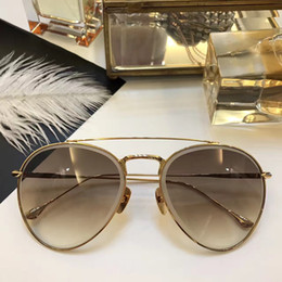 206a8a68d41 AX IAL Luxury Fashion Men Women Brand Sunglasses Gold Plated Metal Oval  Frame Steampunk Style Top Quality UV400 Lens Come With Original Box