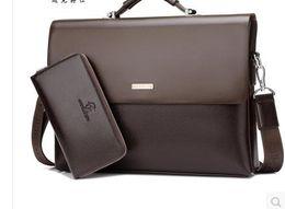 $enCountryForm.capitalKeyWord Canada - Designer Handbag High Quality PU Leather Messenger Bag Famous Brand Business Laptop Computer Handbag Briefcases Men Tote Bag S