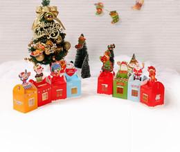 $enCountryForm.capitalKeyWord Canada - 20pcs Christmas Gift Box Beautifully Folded Colorful Christmas Apple Box Christmas Stocking Ornaments Chocolate Favor Gift box