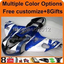 23 farben + 8Geschenke motorabdeckung BLUE WHITE TL1000R 98 99 2000 01 02 Verkleidung für Suzuki TL 1000R 1998 1999 2000 2001 2002 im Angebot