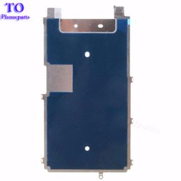 Backplate iphone online shopping - 50Pcs replacement For iPhone S quot s plus quot g LCD Plate Metal Backplate Shield Heat Dissipation Adhesive Sticker parts