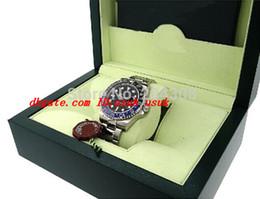 $enCountryForm.capitalKeyWord UK - Luxury Wristwatch II 116710 Blue Black Ceramic Bezel Stainless Steel Bracelet Mens Automatic Watch Men's Sport Wristwatches Original Box
