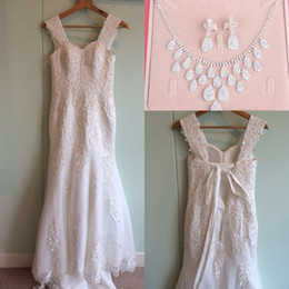 $enCountryForm.capitalKeyWord Canada - 2017 Beads Meamaid Wedding Dresses Aradal Sweethert Lace Appliques Bridal Gowns Real Photos Plus Size Wedding Dresses Free Necklace Set