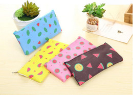 $enCountryForm.capitalKeyWord Canada - Cute Watermelon Oxford Fabric Pencil Cases Pencil Pouches Pen Bags Office & School Supplies Korean Stationery