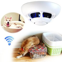 32gb Wifi Ip Camera Motion Detection Spy Camera Smoke Detector Hd 1080p Wireless Security Camcorder Real Time Video Nanny Cam Hidden Camera