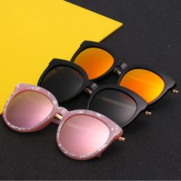 stones sunglasses 2019 - New v brand stone pattern sunglasses men and women general Color film reflective mirror dazzle color leisure polarized s