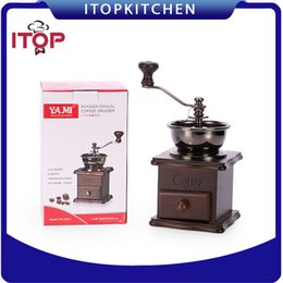 China ITOP IT8521 Hand Grinder Manual Coffee Beans Spice Grinder Gift Stainless Steel Coffee Powder Maker suppliers
