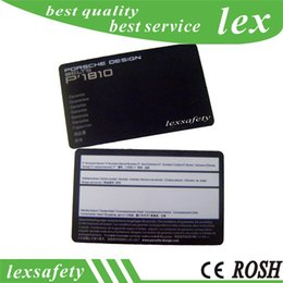Rfid Print Australia - RFID Card Supplier Print 100pcs lot F08 1K 13.56MHZ Discount Contactless Plastic PVC Payments Card   Paypass ic Cards