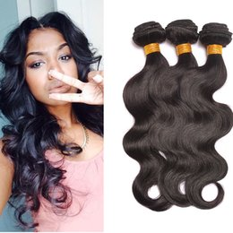unprocessed curly mixed hair weave 2019 - 7A Unprocessed Brazilian Kinky Straight Body Loose Deep Wave Curly Hair Weft Human Hair Peruvian Indian Malaysian Hair E