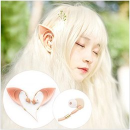 $enCountryForm.capitalKeyWord Canada - 3.5mm Auriculares Elf Earphones Headphones Ultra-soft Cosplay Spirit mp3 Fairy HIFI In-Ear Earbuds Headset with Microphoe for Smart phone