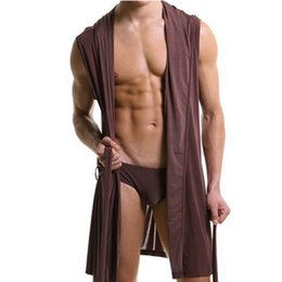 Kimono Sexy Robe Homme Pas Cher-Robe hommes robe hommes sexy vêtements de nuit homme kimono soie gay wear pyjama occasionnel loisirs robe sexy 2016 nouveau H245