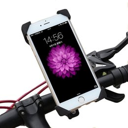 Wholesale Universal Rotating Bicycle Bike Phone Holder bike phone stand Motorcycle Holder Cradle for iPhone Samsung Galaxy