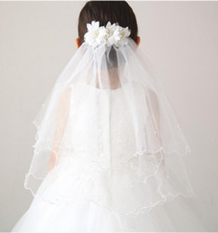 China 2016#V002 New Twig&Honeys Imitation Tulle Bridal Veil in Stock Vintage Custom Size Wedding Accessories Flower Girl Veils cheap honey flowers suppliers