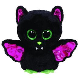 """$enCountryForm.capitalKeyWord Canada - Ty Igor the Bat 6"""" Plush Animal Beanie Boos Big Eyes Bat Holiday Christmas Gift Stuffed Animals Toys Doll"""
