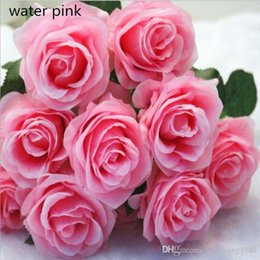 Shop wholesale single silk roses flowers uk wholesale single silk 13 colors touch single branches moisturizing roses artificial silk flower bouquet for home decoartion ornament wedding supplies mightylinksfo