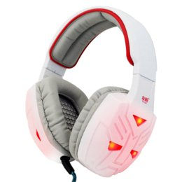 Noise Reduction Microphones Canada - Gamaing Headphone LED Light Breathing Y028 Bass Stereo Top Quality Headsets Headband Computer Game + Microphone Noise Reduction