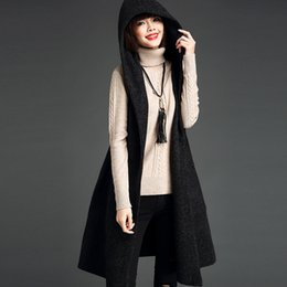 Hooded Cardigan Sweater Vest Sleeveless Suppliers | Best Hooded ...