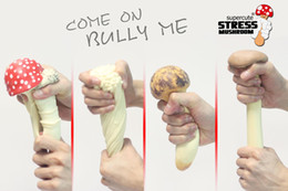 $enCountryForm.capitalKeyWord NZ - Retail Mushroom spoof vent vent matsutake decompression toys props Cream Decompression Anxiety Toys