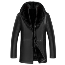 Discount Leather Shearling Coats | 2017 Shearling Leather Coats on ...