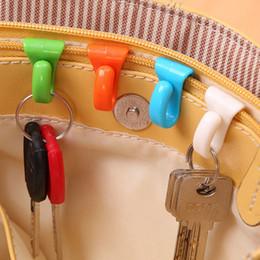 $enCountryForm.capitalKeyWord Australia - Wholesale- 2PCS Creative Anti Lost Bag Hooks Inside Built-Key Holder Bag Inner Key Clip For Easy Carrying