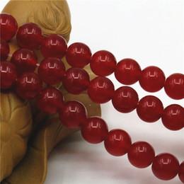 $enCountryForm.capitalKeyWord Canada - Wholesale 6mm 8mm 10mm 12mm Ornaments DarkRed Stones Jade Loose Beads Jasper Round Jewelry Making 15inch Women Christmas Gifts