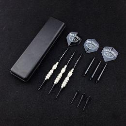 Wholesale 3 pcs set 18g electronic darts Professional Soft tip darts Copper Rod Anti-throw Aluminum Shaft PTU Wing Soft Tip dart Toys