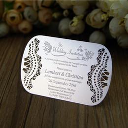 Wholesale-wedding metal wedding invitation card  8378e477458a