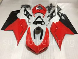1198 Fairings Canada - Injection mould Complete Fairings For Dukati 1198 848 1098 2007 2008 2009 Dukati 1198 848 1098 Dukati 07 08 09 Motorcycle Red A001