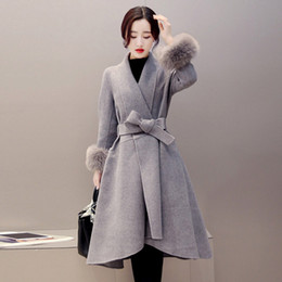 Discount Belt Cashmere Coat Fur | 2017 Belt Cashmere Coat Fur on ...