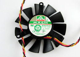 $enCountryForm.capitalKeyWord Canada - New Original MAGIC MGT6012YR-O15 12V 0.37A graphics card cooling fan Pitch 42mm
