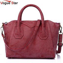 $enCountryForm.capitalKeyWord Canada - Wholesale- Vogue Star Women handbag for women bags matte leather handbags brand women's pouch bolsas smile bag high quality pouch LS344