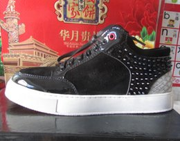 b7a6b6a1422 Royaums Shoes Canada - Wholesale-2017 New Fashion High Top Royaums Kilian  Rivet Men sneakers