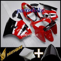 Kawasaki Ninja Orange Plastic Kit Canada - ABS Fairing for Kawasaki ZX6R 00 02 ZX-6R 2000 2002 00 01 02 red Aftermarket Plastic Motorcycle Body Kit