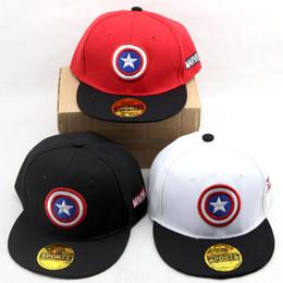 71b744adb0d1c Batman Cap Kids Australia - kids Baseball Caps children Captain America caps  Baby Sun Hats Baseball