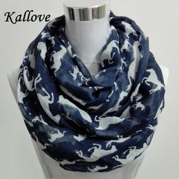 Cotton Viscose Scarves Australia - Wholesale- 10pcs lot New Women Ladies Viscose Cotton big small Horse Print scarf horese infinity Animal horse Scarves Shawl Wrap