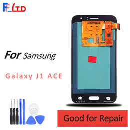SamSung galaxy ace diSplay online shopping - Super AMOLED HD for Samsung Galaxy J1 ACE J110 LCD Display Digitizer Assembly Screen Replacement Tested
