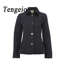 Wholesale quilted jackets for sale - Group buy Autumn Winter Womens Jackets And Coats Wadded Quilted Jacket Plus Size Female Women Basic Coats Campera Mujer Chaquetas SJM