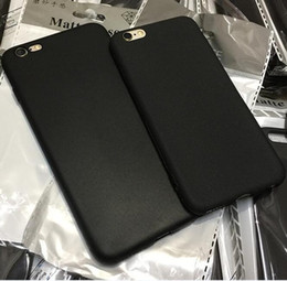 ingrosso opaco sottile caso iphone nero-Custodia sottile sottile Slim Case Matte Black Black Soft TPU Cover posteriore per iPhone Mini Pro X XS Max XR Plus