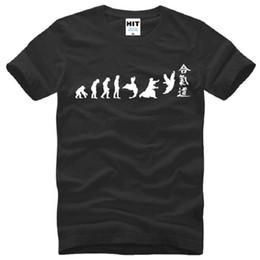 $enCountryForm.capitalKeyWord Canada - New Aikido Evolution T Shirts Men Cotton Short Sleeve O-Neck Coll Funny Ptinted Men's T-Shirt Summer Style Sport Tops Tees