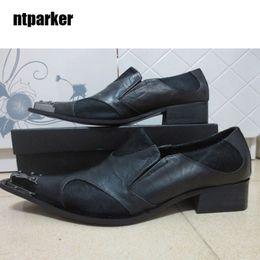 $enCountryForm.capitalKeyWord Canada - Japanese Type Man Shoes Black Genuine Leather man Dress shoes Wedding and Party Shoes for Man, Big Sizes EU38-46