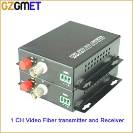 $enCountryForm.capitalKeyWord NZ - 20KM 1 Channel Video Audio Data Fiber Optic Media Converter Transmitter & Receiver with Single Mode Single Fiber FC BNC