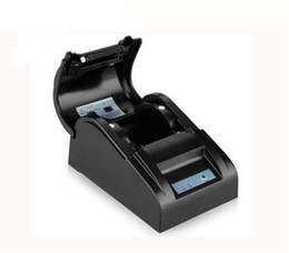 White lining paper online shopping - Mini Portable T Thermal Printer Paper Width MM Thermal Direct Line Printer Compatible Windows System For Receipt Printing
