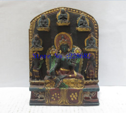 $enCountryForm.capitalKeyWord Australia - 100% Tibetan traditional hand-carved crafts, collection old 8 buddha statue from Tibet ,free shipping