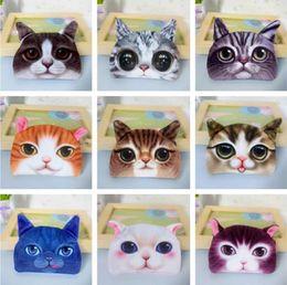 b63bccff52 All'ingrosso-M289 Cute Cartoon Harajuku Meow Star Portamonete Cat Dog Borsa  a portafoglio semicircolare Ragazza Studente borsa donne Regalo all'ingrosso