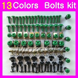 tzr fairing 2019 - Fairing bolts full screw kit For YAMAHA TZR-250 TZR 250 92 93 94 95 96 97 TZR250 1992 1993 1994 1997 Body Nuts screws nu