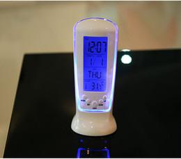 $enCountryForm.capitalKeyWord NZ - Creative Fashion LED Luminous Music Timing Blue Light Temperature Display 510 Alarm Clock Permanent Calendar Electronic Clocks 8zb R